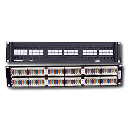 wholesale patch panels blank patch panel icc patch panels cat 5e rh americanteledata com Cat5e Patch Panel Wiring Diagram Cat6 Patch Panel Wiring Diagram